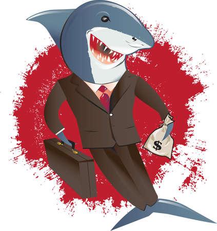 スーツのサメ
