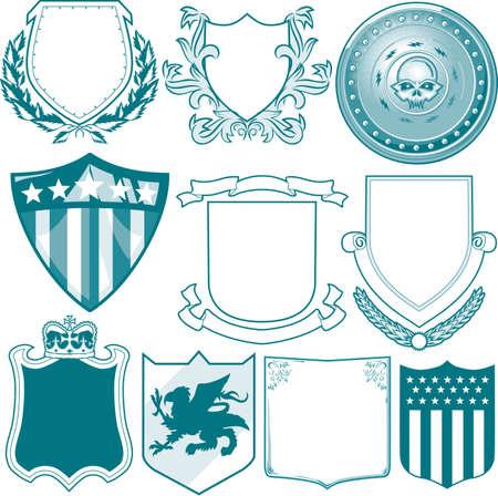 escudo de armas: Escudo de la colecci�n