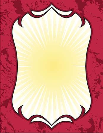Decorative Shield Plaque