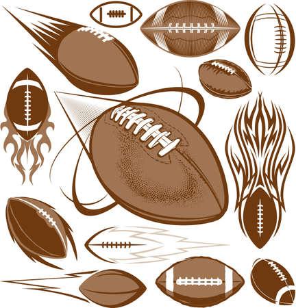 Fútbol Colección Ilustración de vector
