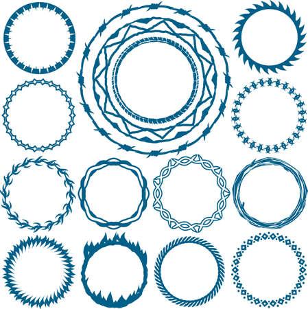 指輪やサークル デザイン