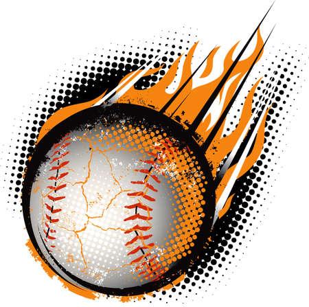 beisbol: B�isbol Meteor Vectores