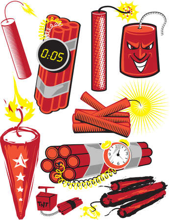 Dynamite Collection Vector