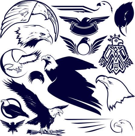 Eagle Collection Vettoriali