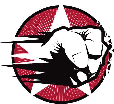 拳ストライク エンブレム