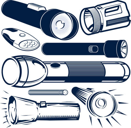 taschenlampe: Taschenlampe Sammlung