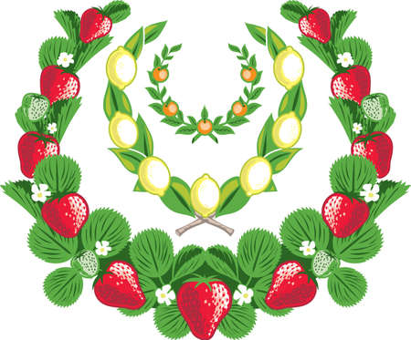 strawberry plant: Fruit Laurels