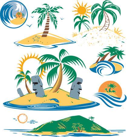 Seven Islands Иллюстрация