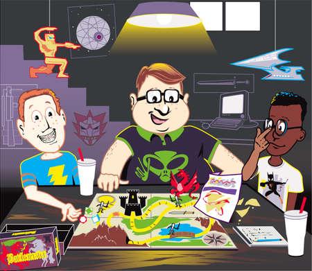 basement: The Inner Sanctum of Geekdom
