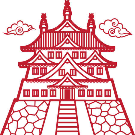 Este castillo Ilustración de vector