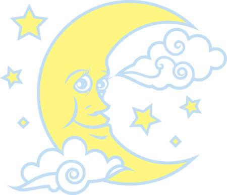 stars: Moon   Stars