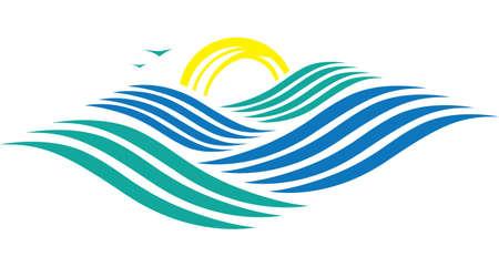 Rolling Ocean Stock Vector - 17243094