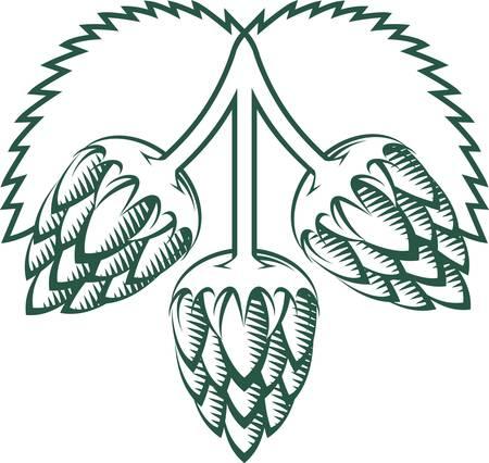 Tri-Hop Emblem Stock Illustratie