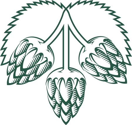 Tri-Hops Emblem Illustration