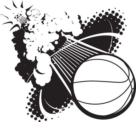 black smoke: Sonic Boom Basketball