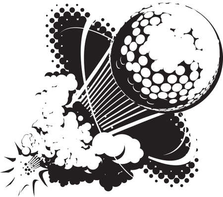 golf hole: Sonic Boom Golf Ball