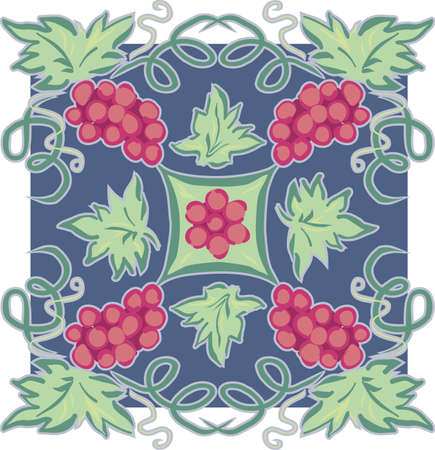 Grape Vine Motif