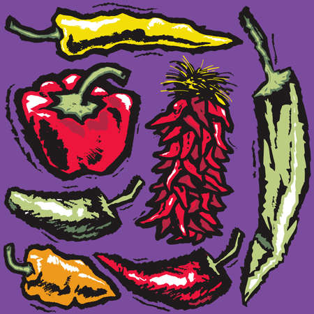 habanero: Grunge Pepper Medley