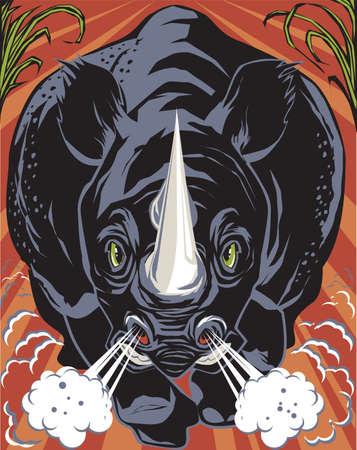 rhinoceros: Black Rhino
