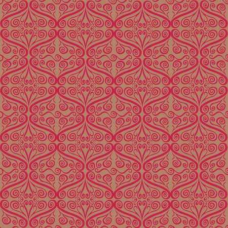 Curly Ornamental Pattern