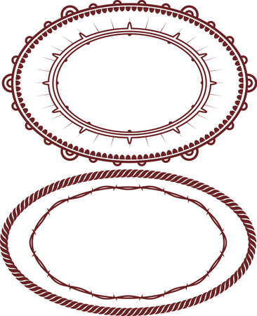 Decorative Ovals