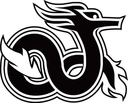 tatouage dragon: Serpent de Feu nordique