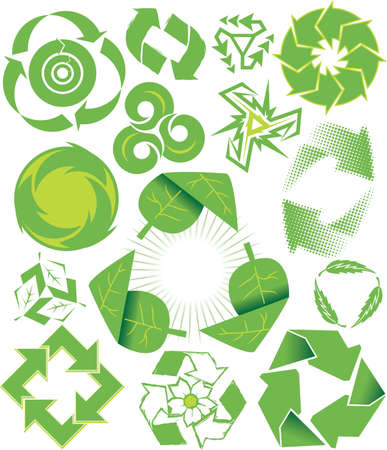 recycle symbol: Recycle Symbols Illustration