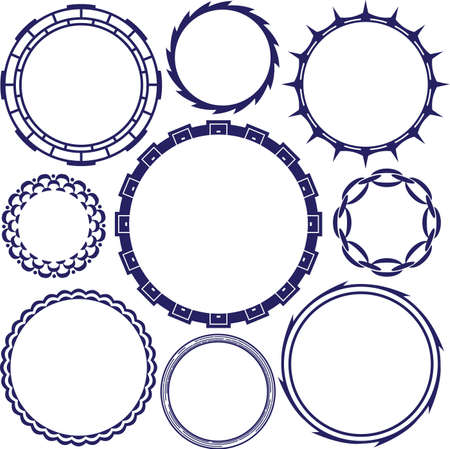 spiked: Rings and Circle Designs