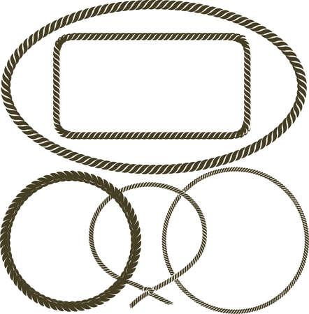 an oval: Colección Cuerda