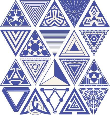 triad: Triangular Designs