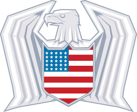 Patriot Wings Stock Vector - 17707562