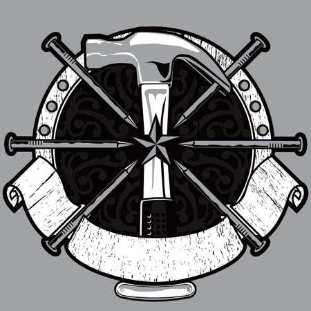 Hammer Crest Illusztráció