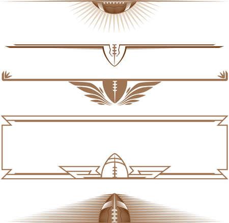 Half-Football Banners
