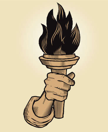 sconce: Torch in Hand