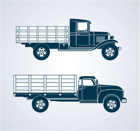 old truck: Vintage Fruit Trucks