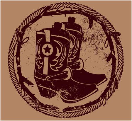 botas vaqueras: Botas Insignia Western