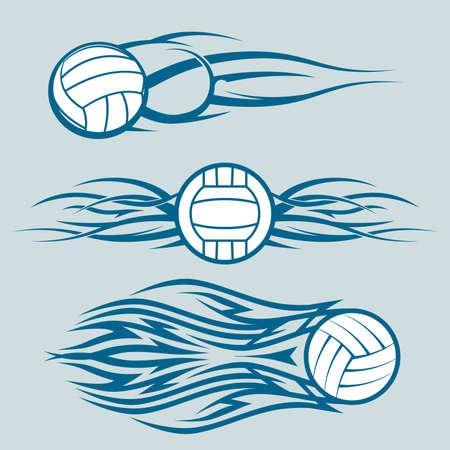 Tribal Volleyballs Ilustrace