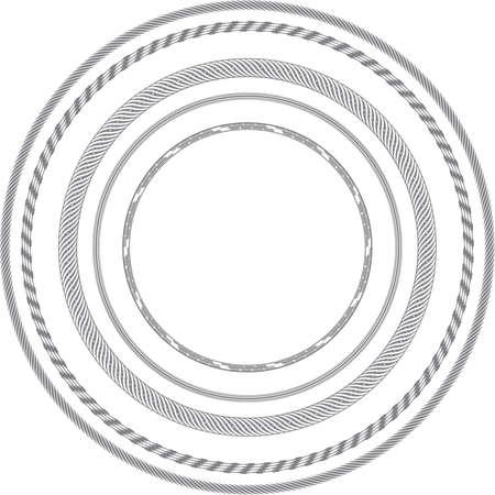 ケーブルおよびワイヤー リング 写真素材 - 35555032