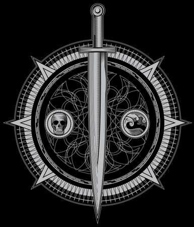 alquimia: Espada de la Oscuridad Alquimia Vectores