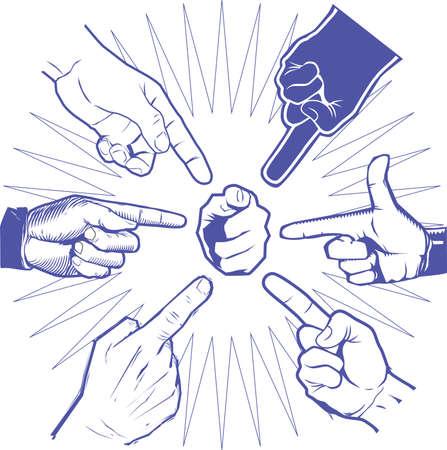 Pointer Hands