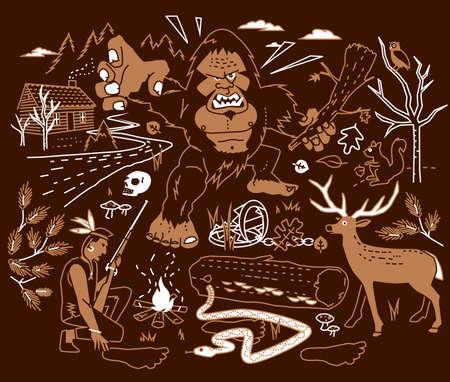 indian creek: The Legend of Bigfoot