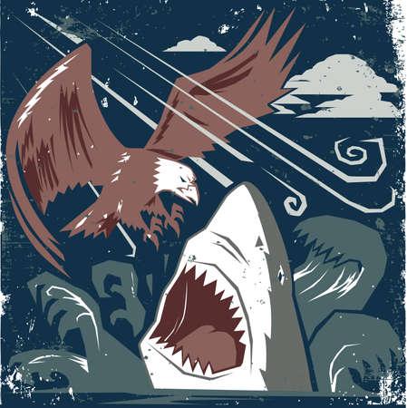 talons: Eagle vs Shark