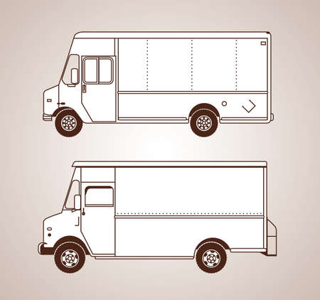 armored truck: Delivery Trucks