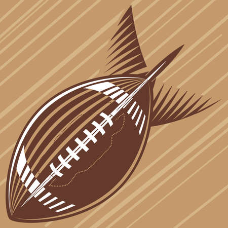 bomb: Football Bomb Illustration