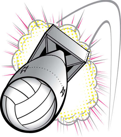 bomb: Volleyball Bomb