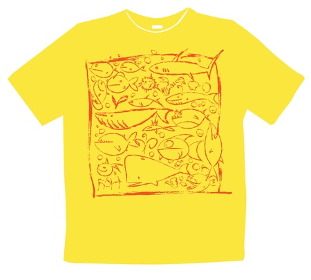 graphic design t-shirts Illustration