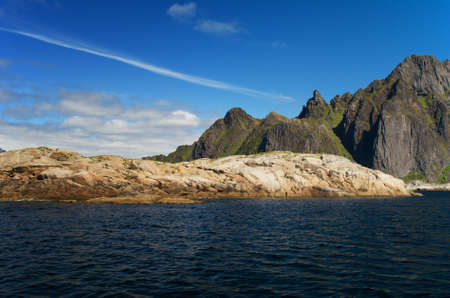 Island Skrova, Lofoten islands, Norway photo