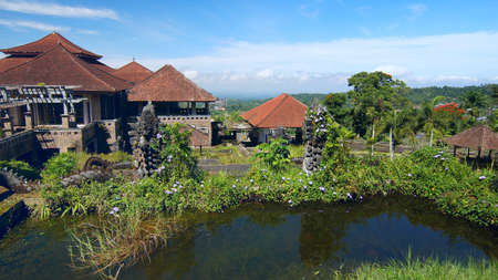 bali province: Hotel with ghost on island Bali