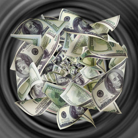 money to burn: Dollars are tightened to the funnel