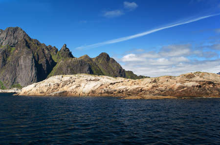 Island Skrova, Lofoten islands, Norway